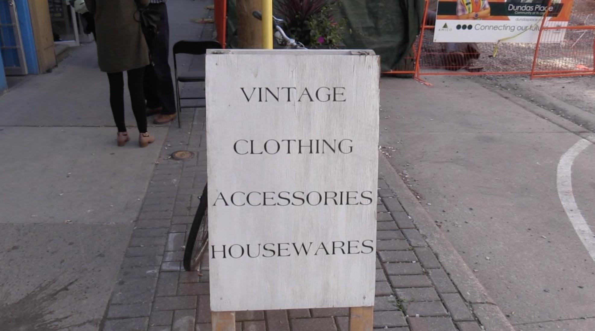 Exploring London's vintage market
