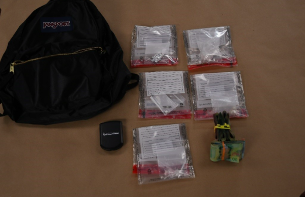 Two charged after drug seizure