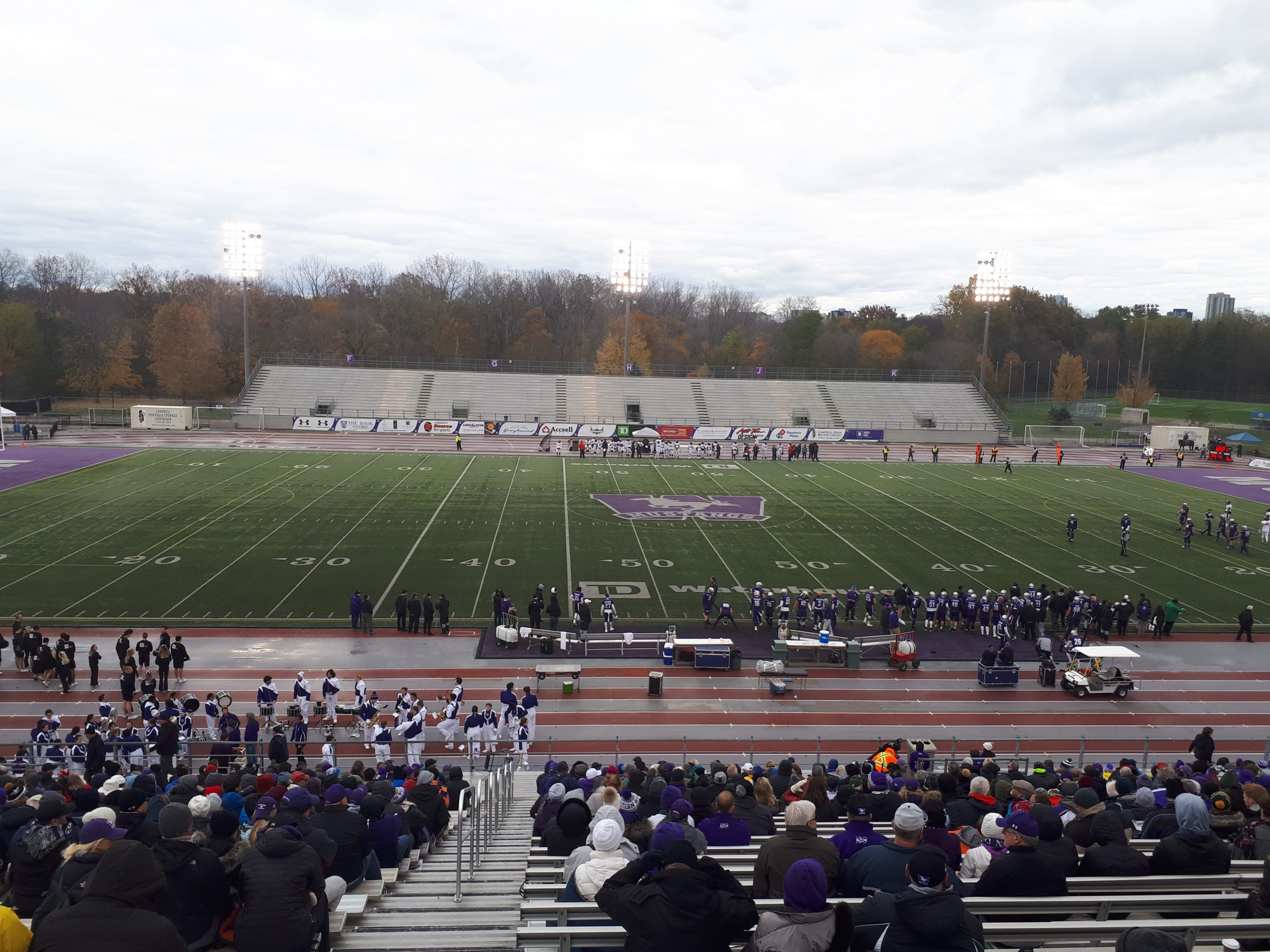 Western Mustangs advance after Win over Carleton Ravens