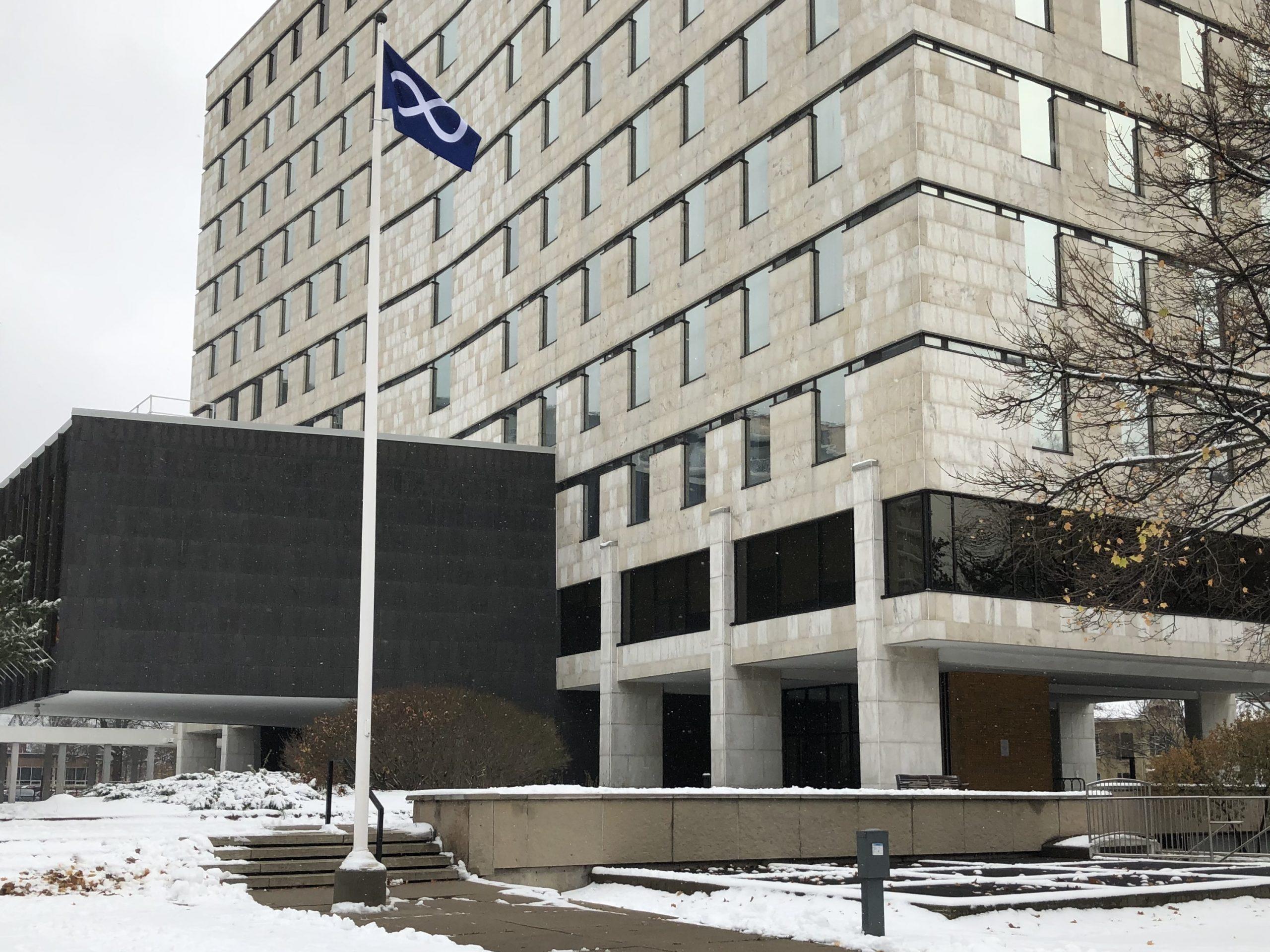 Metis flag flies high at City Hall