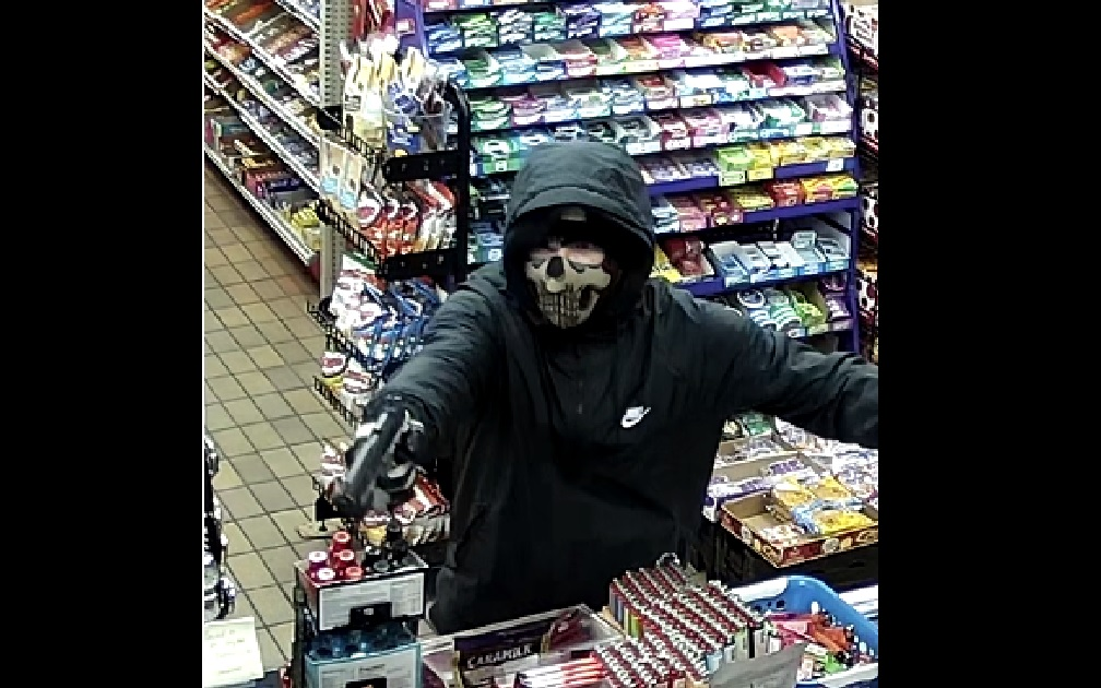 London police search for man wanted in armed robbery on Rectory Street