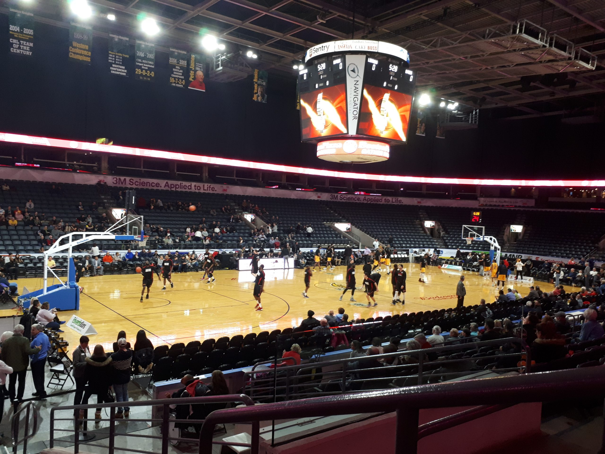 London Lightning come out Victorious in close game vs Windsor