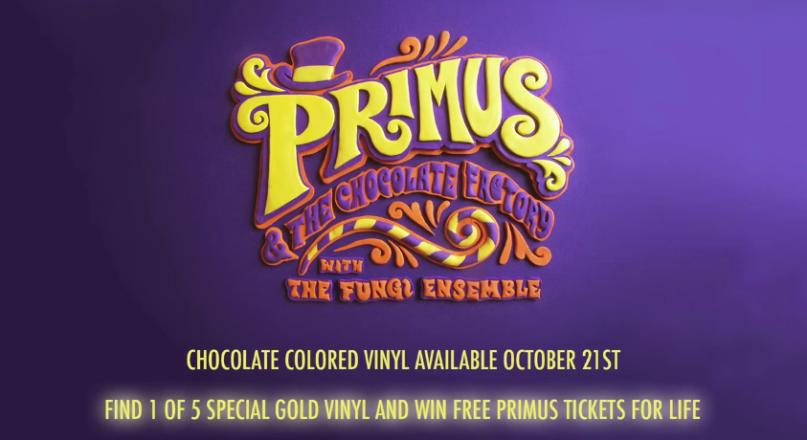 Primus going all Wonka...hides golden tickets inside albums.