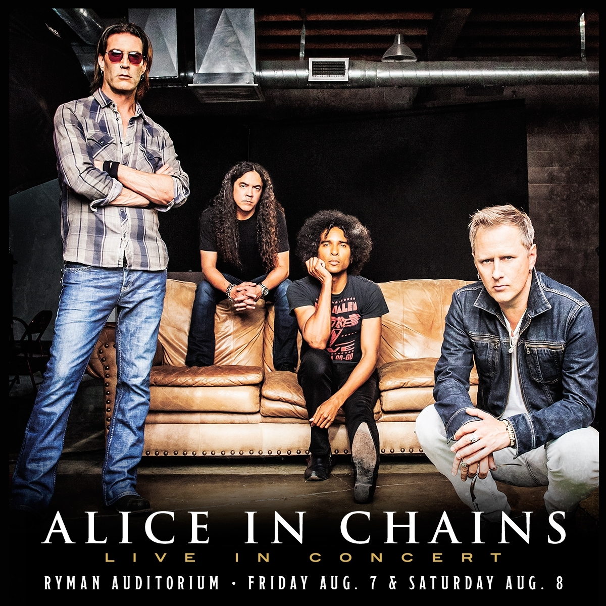 Alice in Chains Standing Room Only tickets now available.