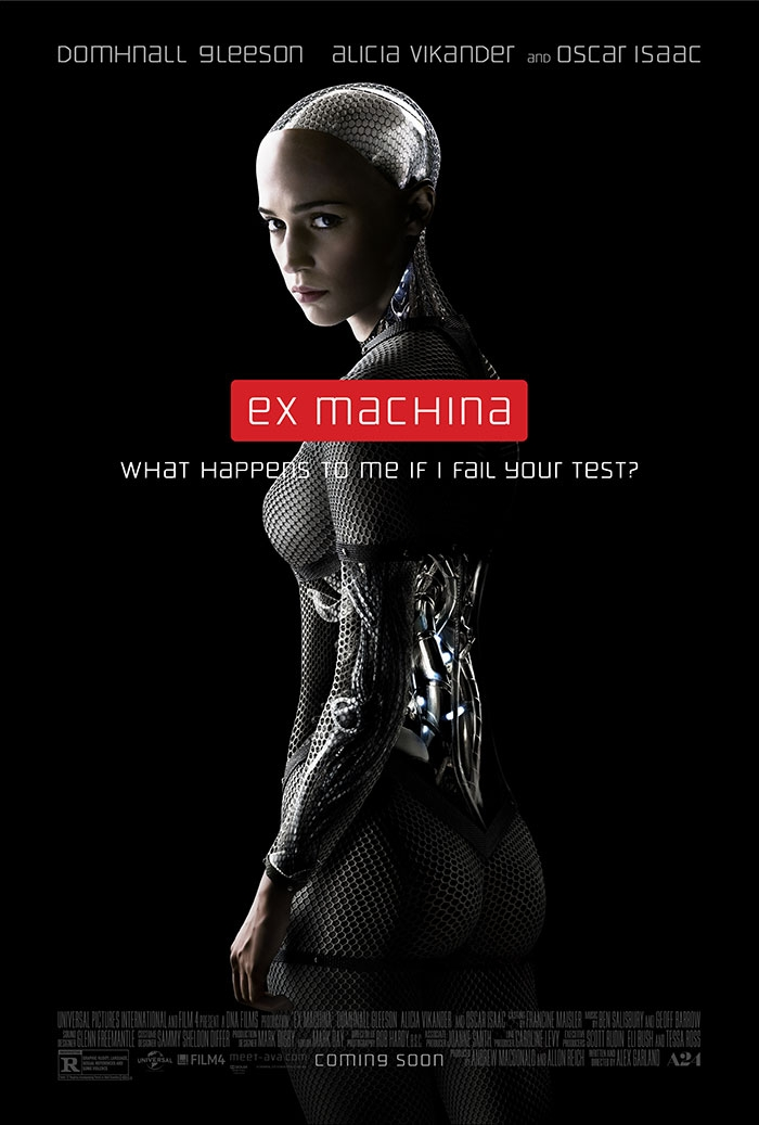 Go to the film screening for EX MACHINA for Free!