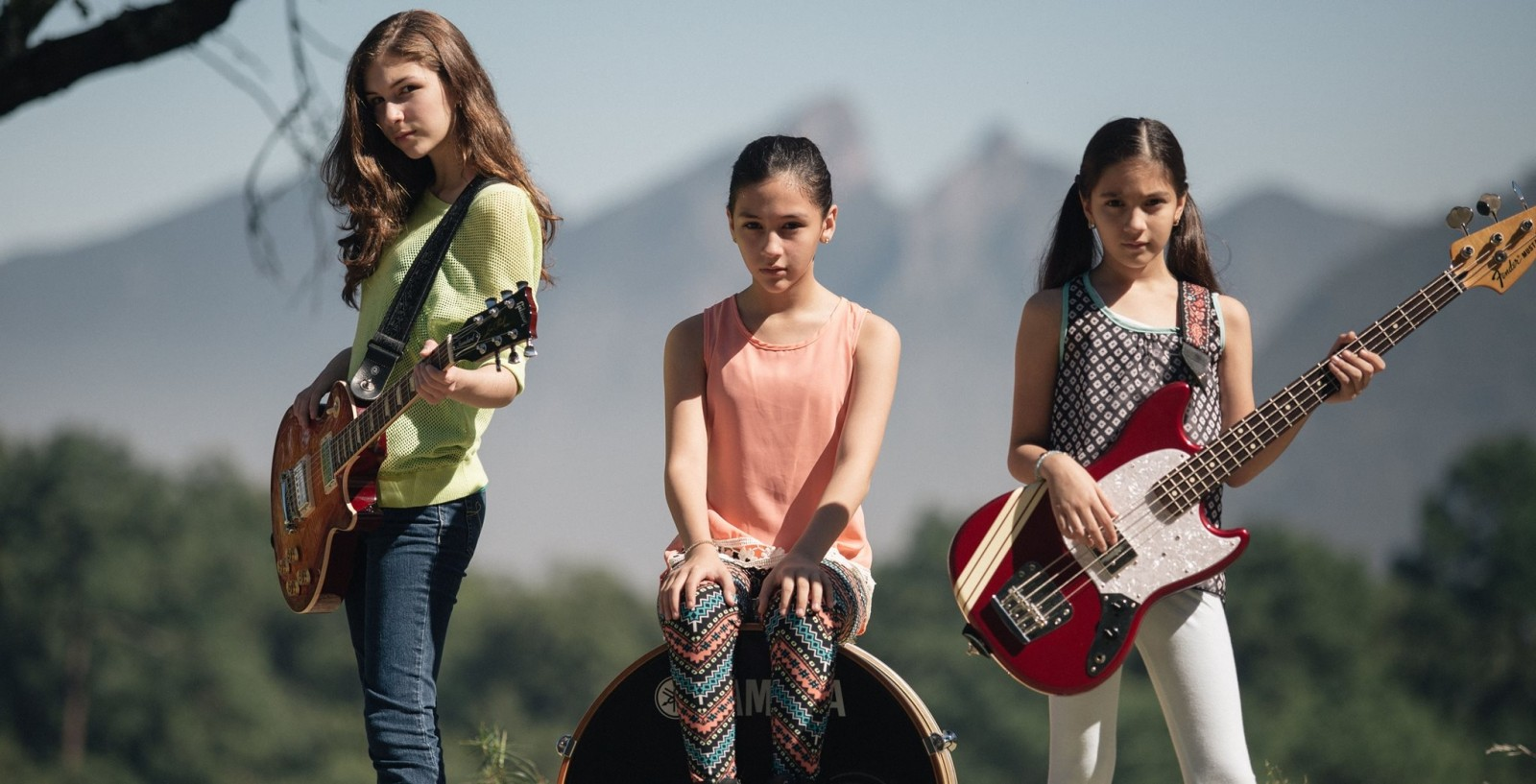 The next great all female rock band?  Yes, yes, they are.