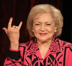 Betty White...still a prankster!