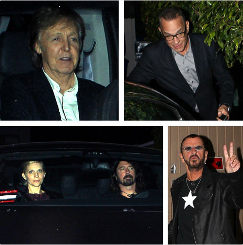 So Paul McCartney, Dave Grohl, and Tom Hanks Walk Into a Restaurant...