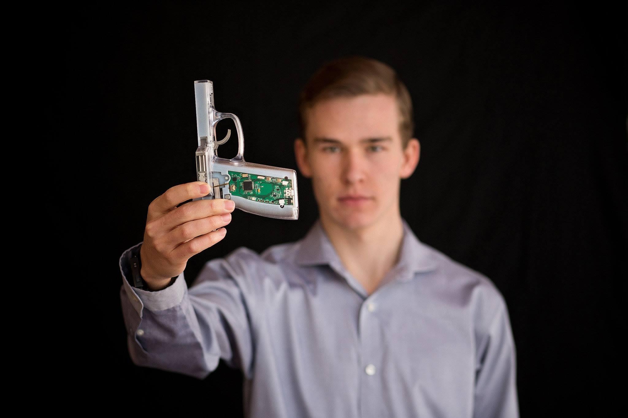 A Fingerprint Scanner For Unlocking Your Gun?