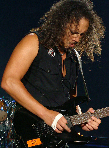 "34 Years Ago-Kirk Hammett Got ""The Call"""