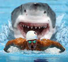 The Greatest swimmer of our time to take on the greatest predator!