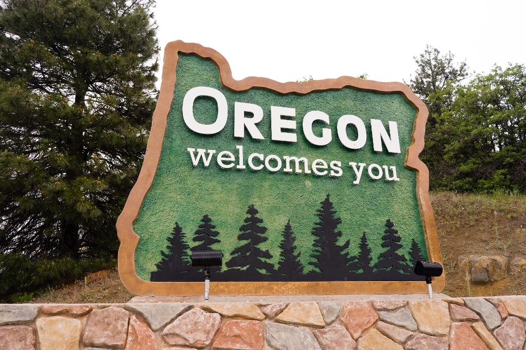Hello OREGON!  Oops...I mean IDAHO...yeah Idaho!
