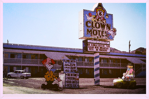 Would You Stay in this Creepy Clown Motel?