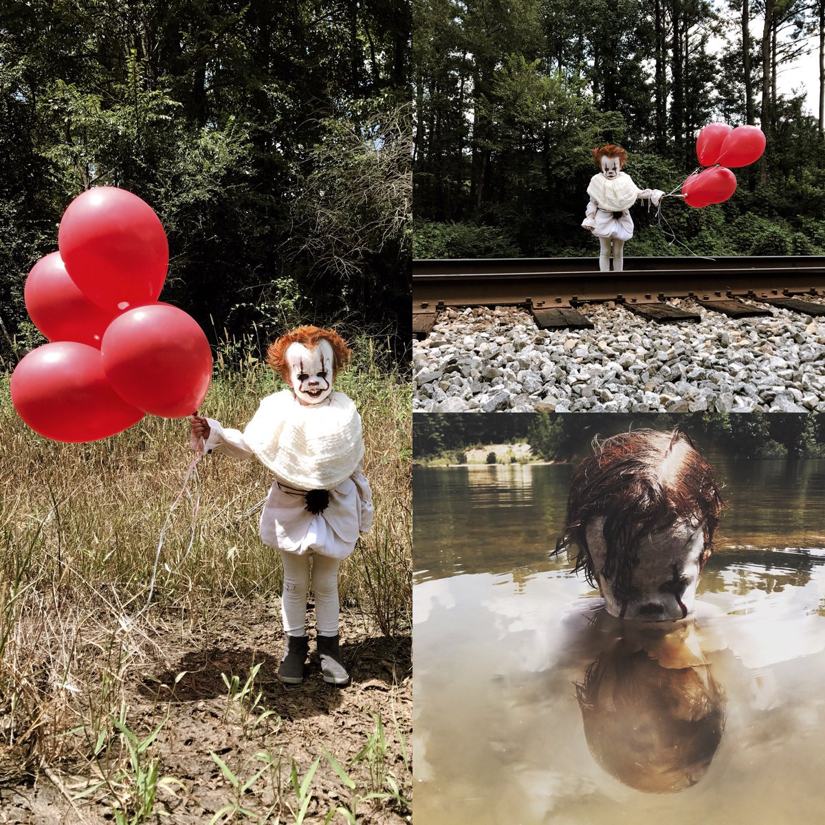 """""""IT"""" is out and this 3 Year Old may be creepier than Pennywise!"""