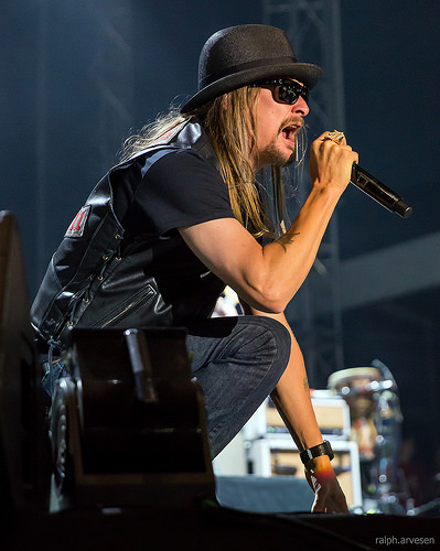 Kid Rock Says F NO! I Ain't Running For Senate