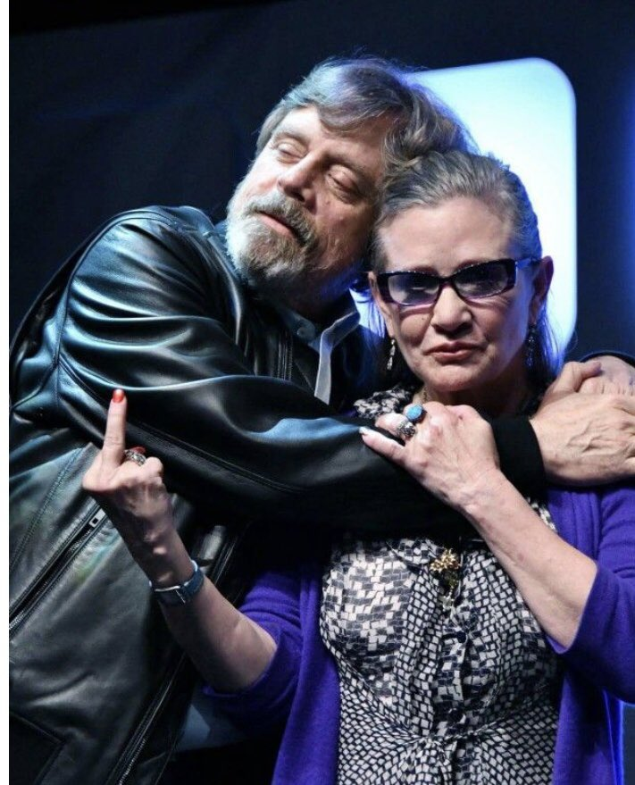 Carrie Fisher's Bday was this weekend.