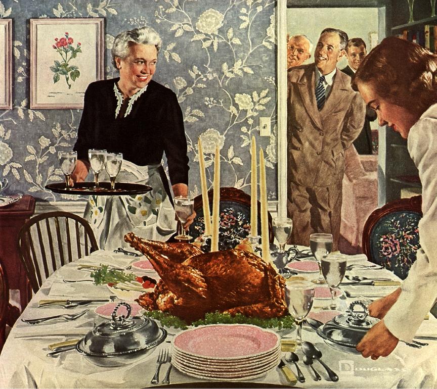 Turkey, stuffing, and Adam Sandler!