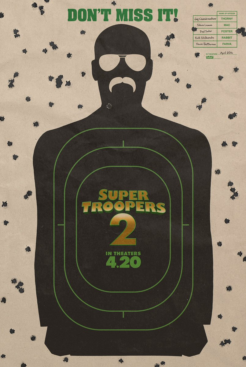 Super Troopers 2 is coming!