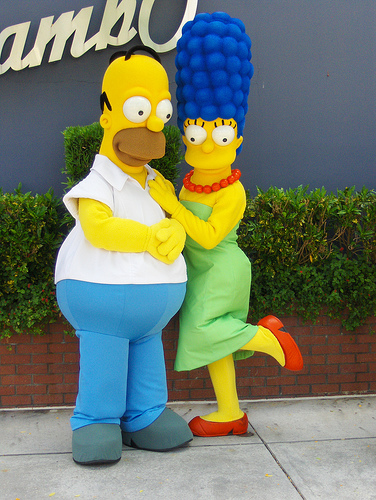 The Simpsons Full Frontal Is Freaking People Out