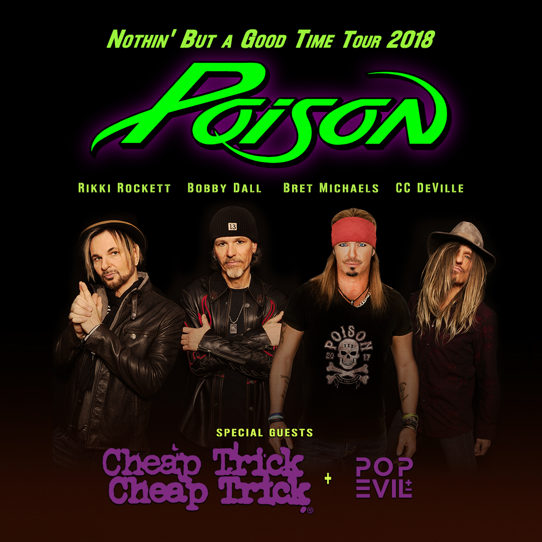 Poison/Cheap Trick/Pop Evil Show Postponed to June 28th