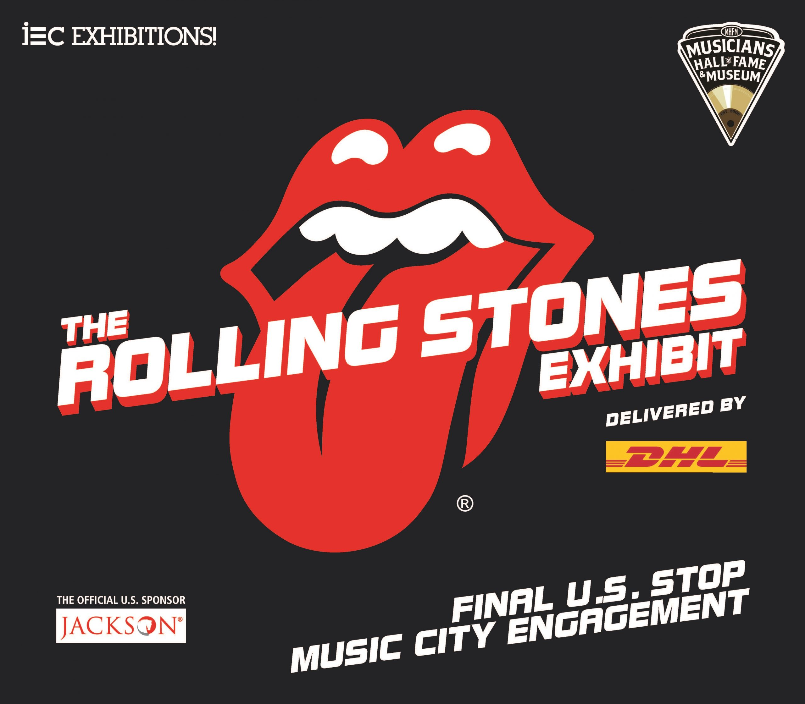 Sculptures Of The Rolling Stones Tongue And Lips Logo Invade