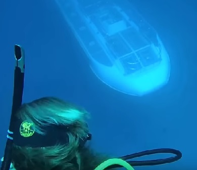 When You're Out Scuba Diving And A Submarine Passes Under You
