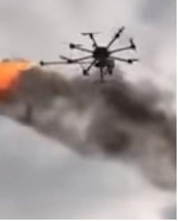 Drones With Flame Throwers! Yaaaaaaas!!