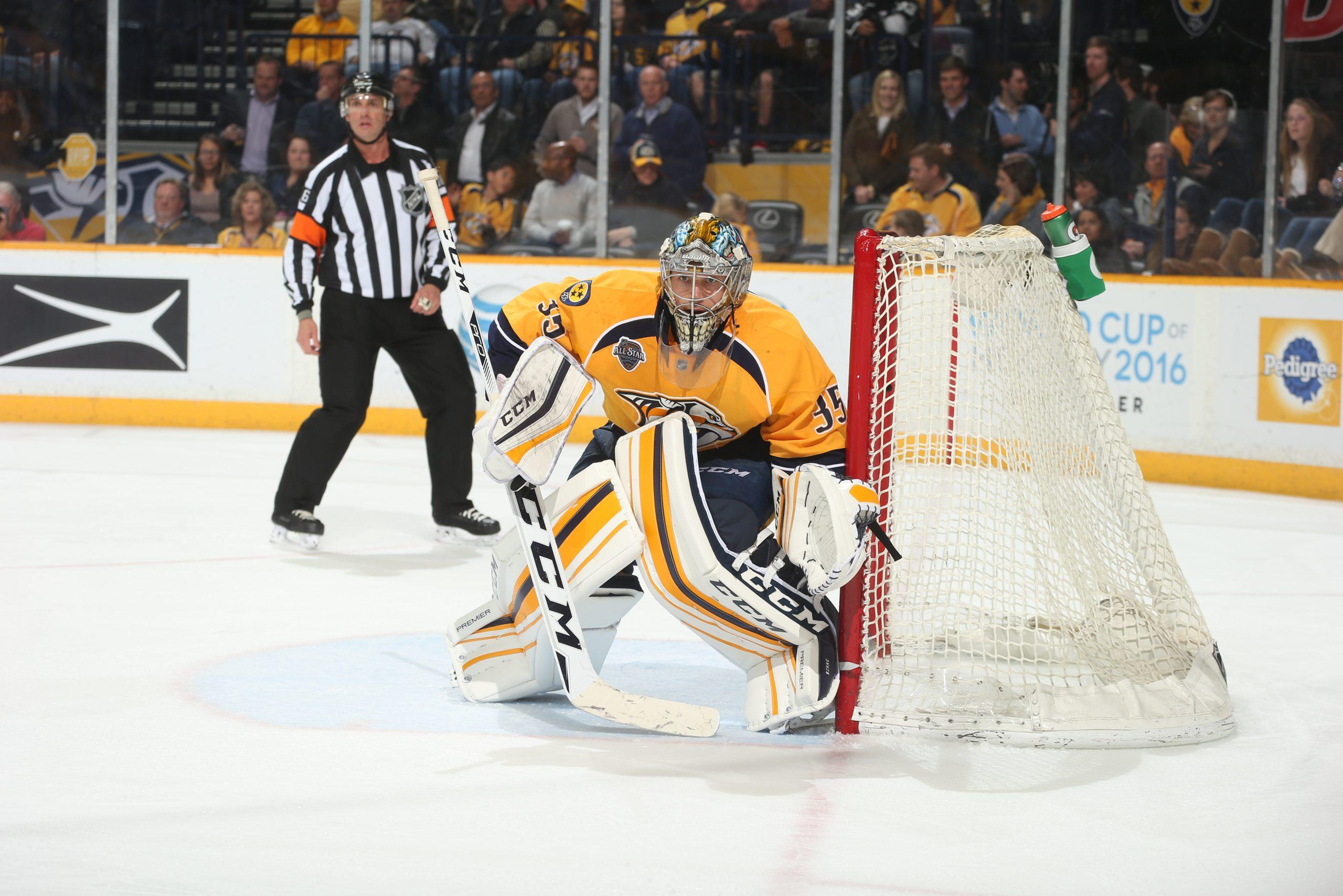Pekka Rinne Wins Vezina Trophy as NHL's Best Goaltender