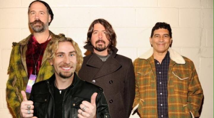 Nickelback's Chad Kroeger To Front Nirvana Reunion?