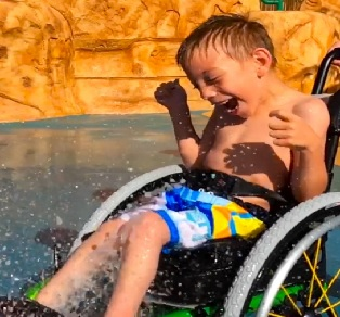 Friday Feels! Love This Waterpark, The First Ever Wheelchair Waterpark!
