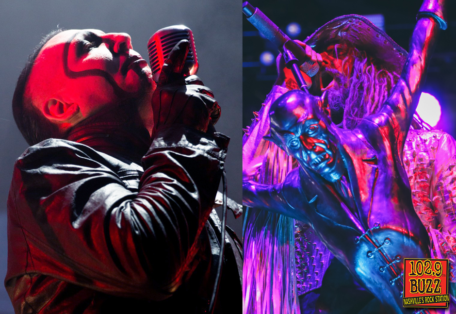 LISTEN: Rob Zombie and Marilyn Manson Cover 'Helter Skelter'