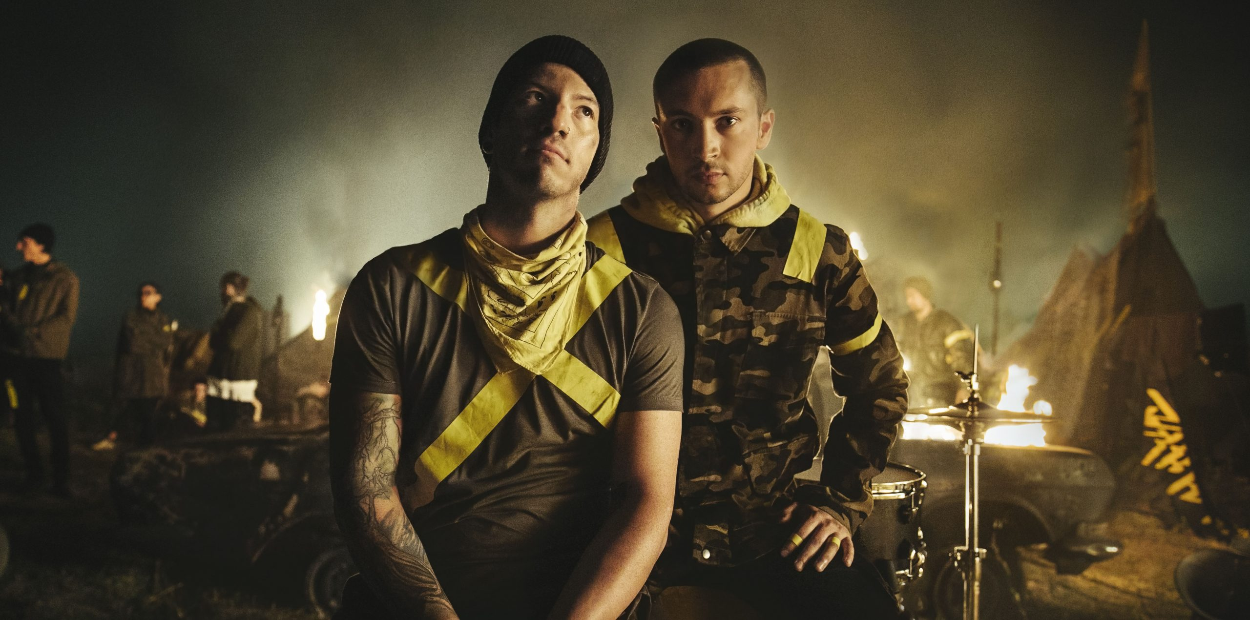 Listen to Twenty One Pilots' New Tracks 'Jumpsuit' and 'Nico And The Niners'