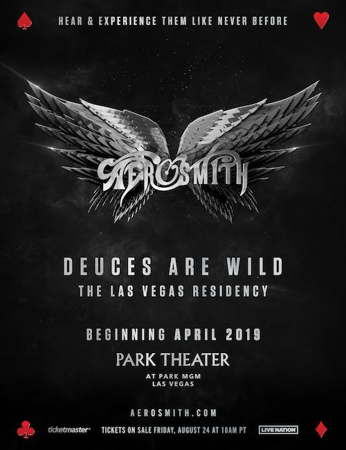 Aerosmith Announces Las Vegas Residency