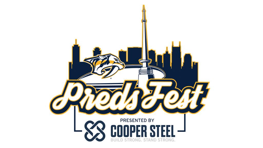 NASHVILLE PREDATORS HOST FIRST-EVER PREDSFEST PRESENTED BY COOPER STEEL