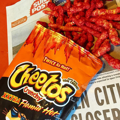 Apparently You CAN Overdose on Flamin' Hot Cheetos =/