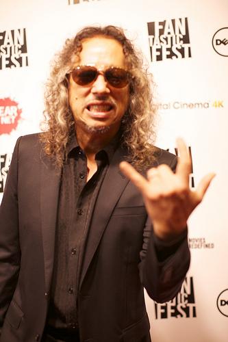 Metallica's Kirk Hammett Talks About His Love Of Horror Comics/Movies