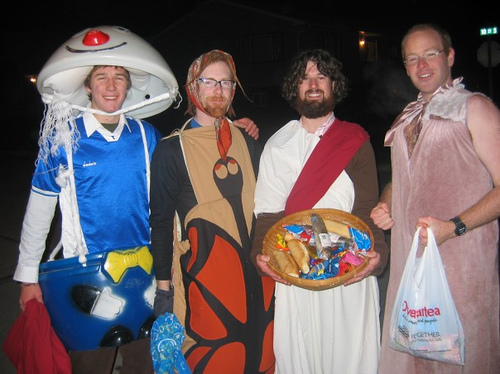 Trick-or-Treat...only if you're under 13!