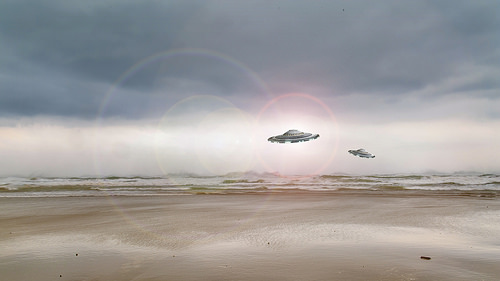 UFO's Spotted Off The Coast Of Ireland