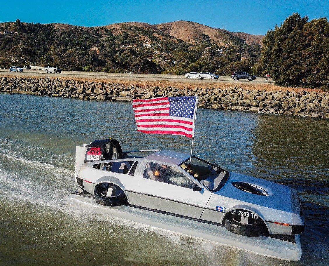 A DeLorean Hovercar?!