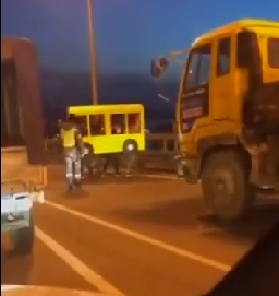 Why Did Four Russians Dress As A Bus? To Cross The Road