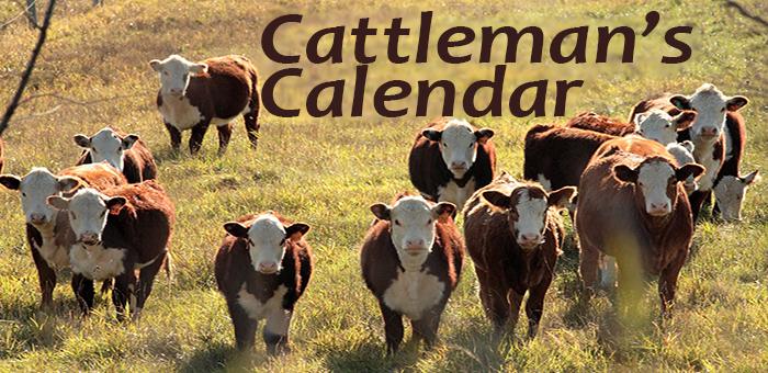 Cattleman's Calendar