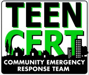 Teen CERT Disaster Exercise and Graduation
