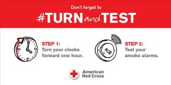 Turn Your Clocks Forward and Check Your Smoke Alarms