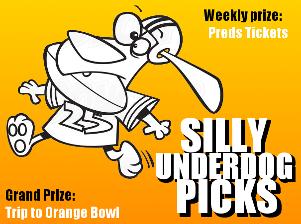 Sports Night: Silly Underdog Picks Expert Selections