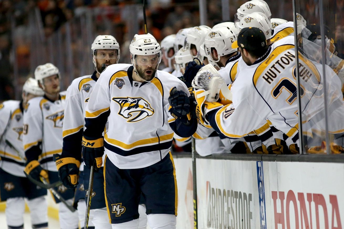 Shea Weber, Predators subdue Sharks, cut series deficit to 2-1