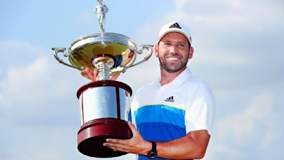 Sergio Garcia beats Brooks Koepka with par on first playoff hole at Byron Nelson