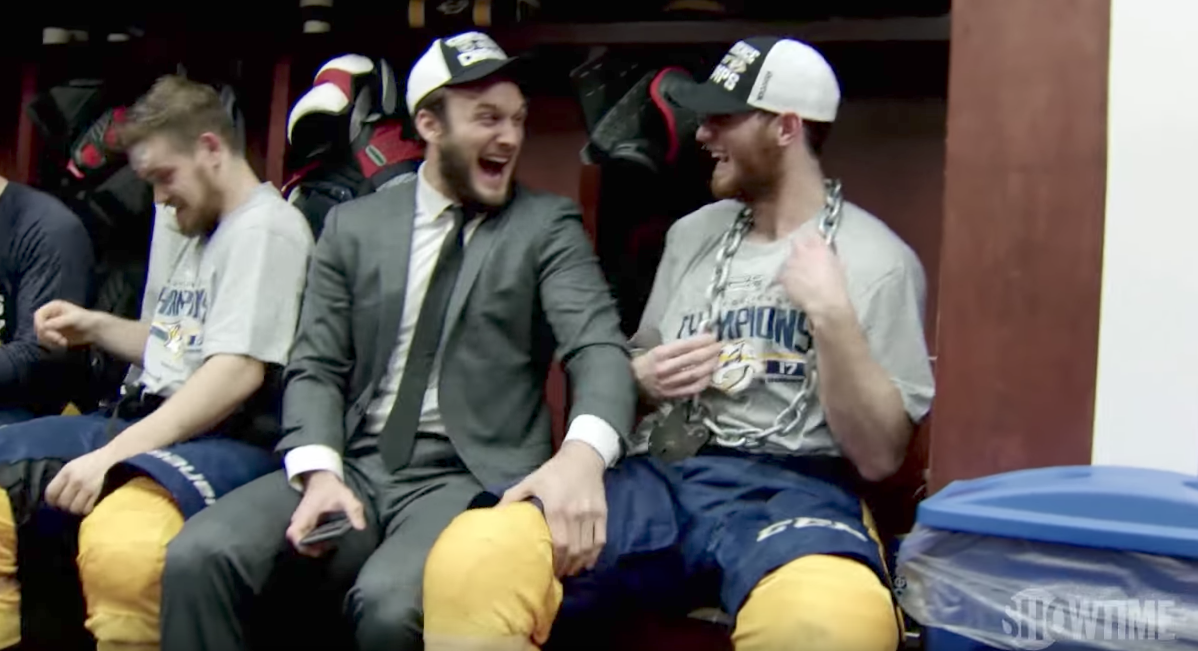 "Colton Sissons on Showtime's All Access: ""Let's bury one more team"""