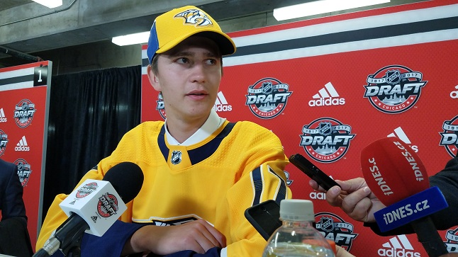 LIVE FROM CHICAGO: What experts say about Preds 5th rd pick Tomas Vomacka