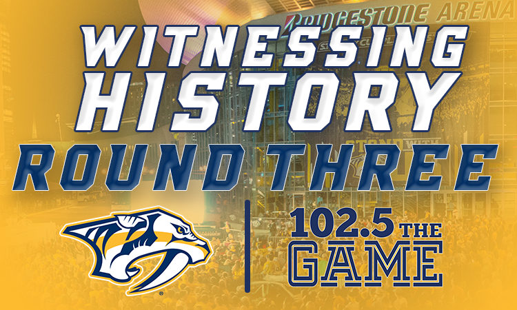 Witnessing History: Round 3 vs. Anaheim