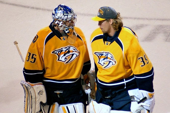 Preds to bring goaltender Anders Lindback back, sign Matt O'Connor